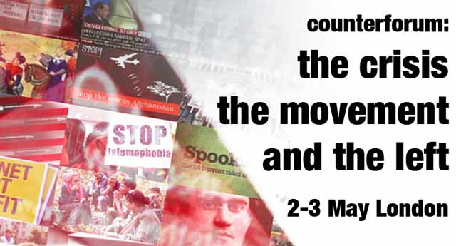 Counterforum: the crisis, the movement and the left