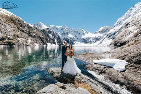 Queenstown Lake Erskine Wedding Package   Heli Weddings in