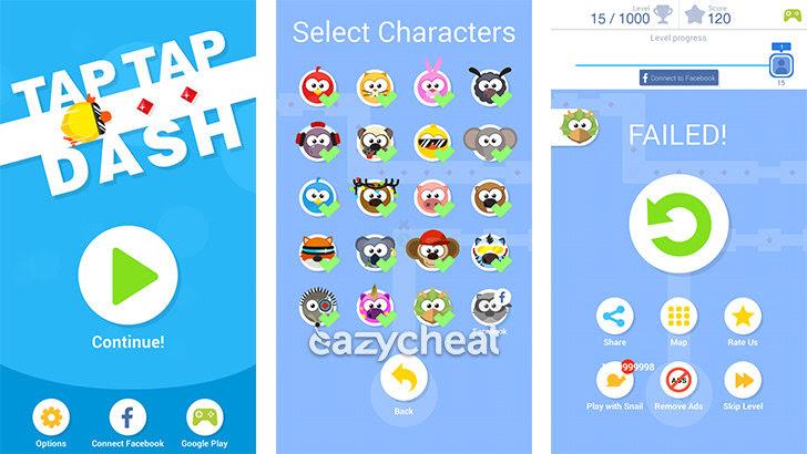 download game tap tap dash mod apk