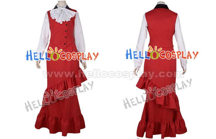 Kuroshitsuji Madam Red Cosplay Costume