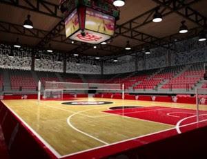 Projeto Arena Multiuso Gávea Flamengo (Foto: Divulgação)