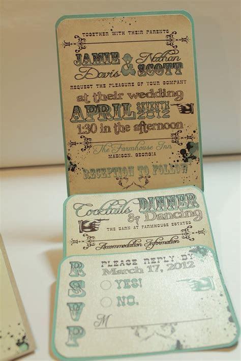 Western Wedding Invitation   I do!!   Pinterest   Wedding