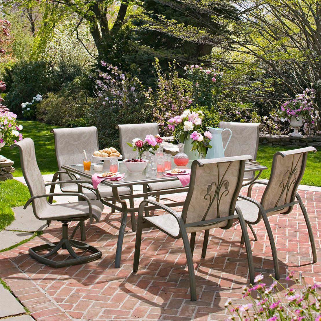 Martha Stewart Everyday Garden Bloomington Dining Chairs ...