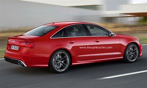 2014 Audi RS6 Sedan Rendered autoevolution