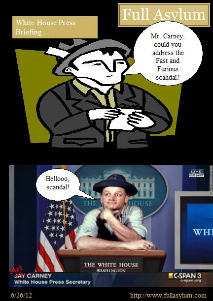 Art Carney, White House Press Secretary
