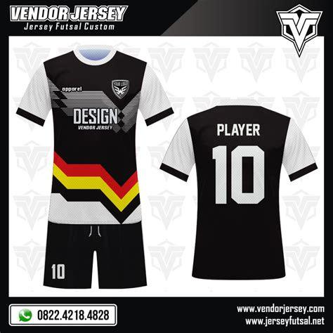 baju futsal beragam pilihan warna tulisan  logo