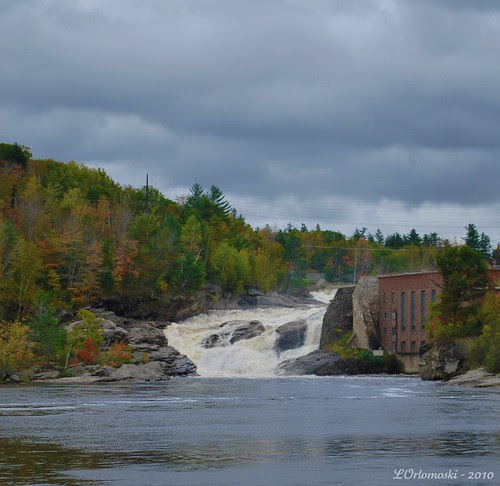 Upper Falls along the Androscoggin River at Rumford, ME