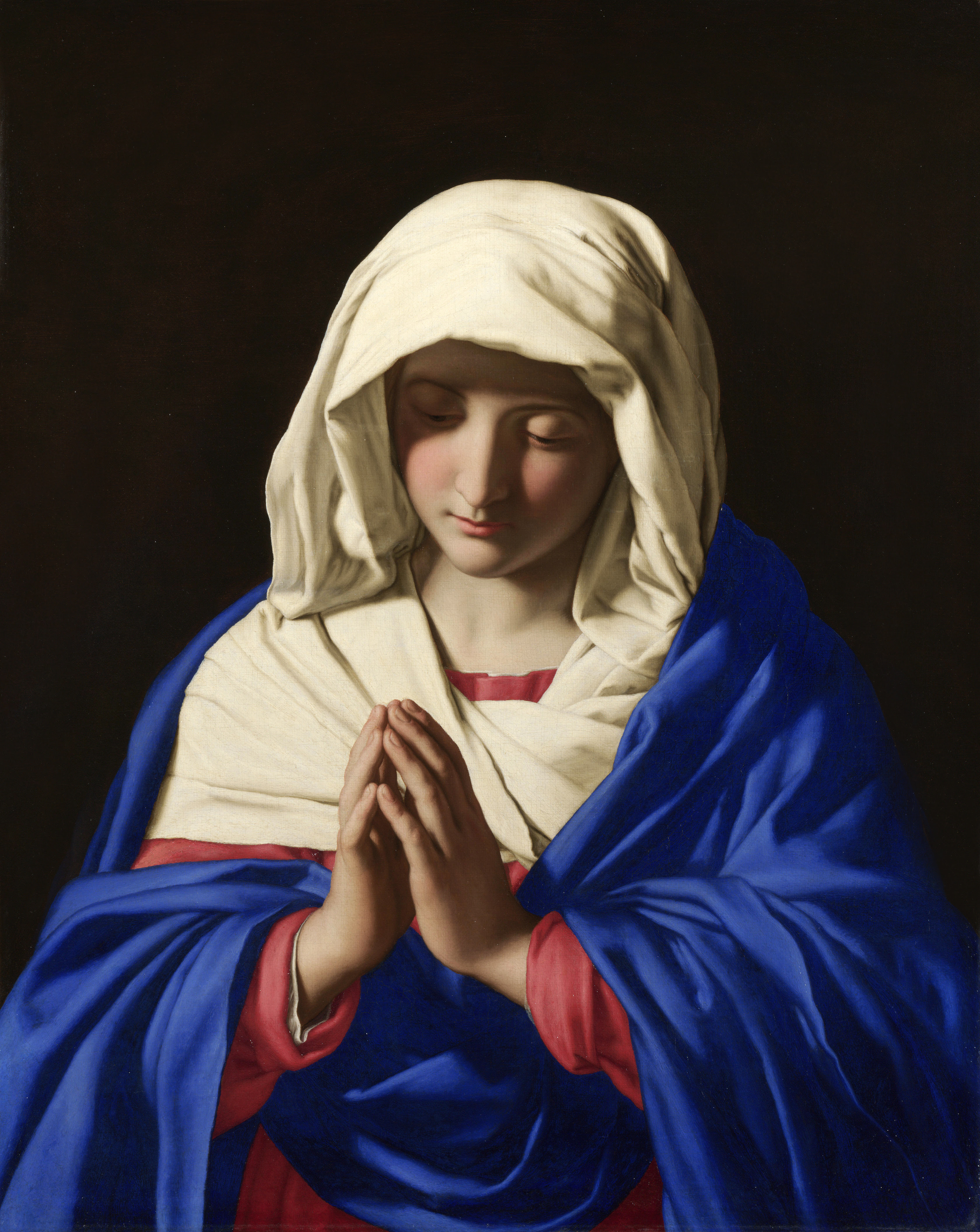 Hail Mary, full of grace, the Lord is with thee!