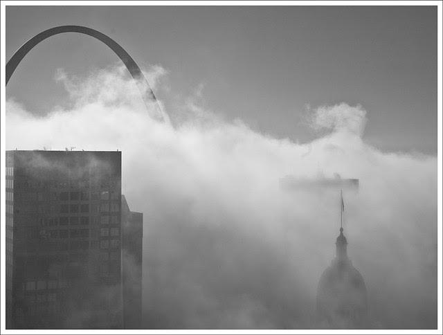 Arch In Fog 2010-10-05