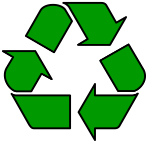 == Summary == Universal recycling symbol outli...