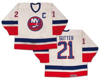 1990-91 Islanders jersey