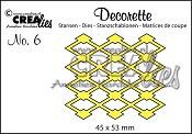 Decorette stans no. 6 / Decorette die no. 6