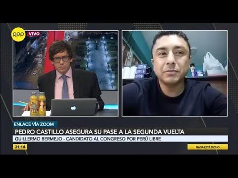 """Guillermo Bermejo: """"No existe participación de Movadef en Perú Libre"""""""