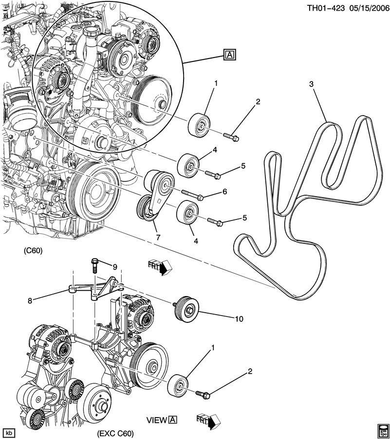 2004 Chevy Silverado Serpentine Belt Diagram - Atkinsjewelry