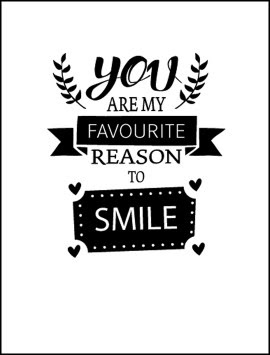 Gift In A Jar You Are My Favourite Reason To Smile