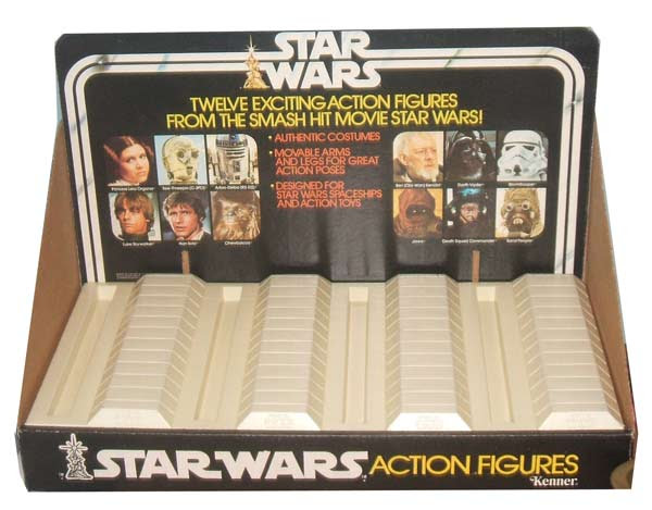 kenner star wars store display