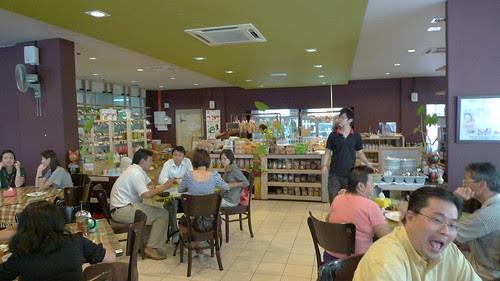 Organic Recipe restaurant interior 3