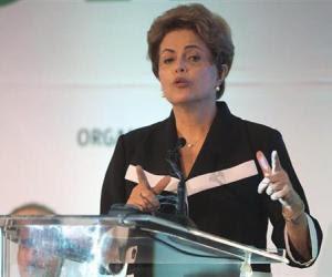 Dilma Rousseff, mandataria brasileña. (Foto: Archivo)