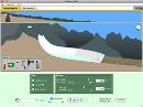 Screenshot of the simulation Glaciers