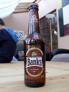Banks, Caribbean Lager, Barbados