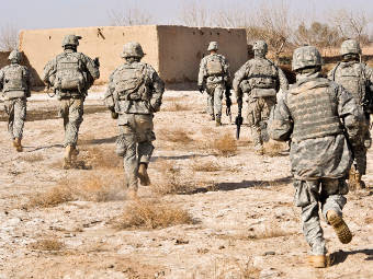 Американские солдаты в Афганистане. Фото с сайта army.mil