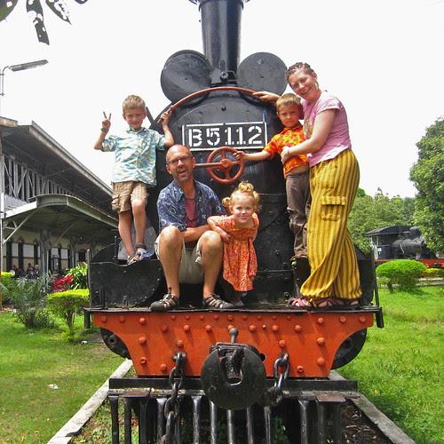 Railway museum, Amlepura, Java