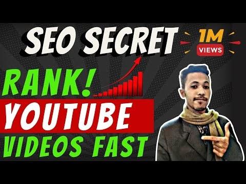 Advanced Youtube Video Seo Ranking Secret   How To Rank YouTube Video on Top