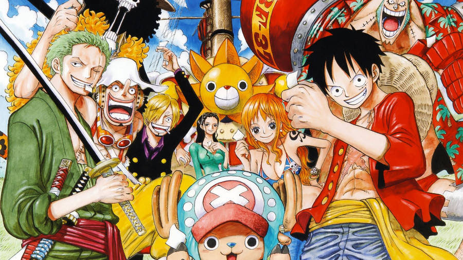 Wallpaper Luffy One Piece X Avanzarevo