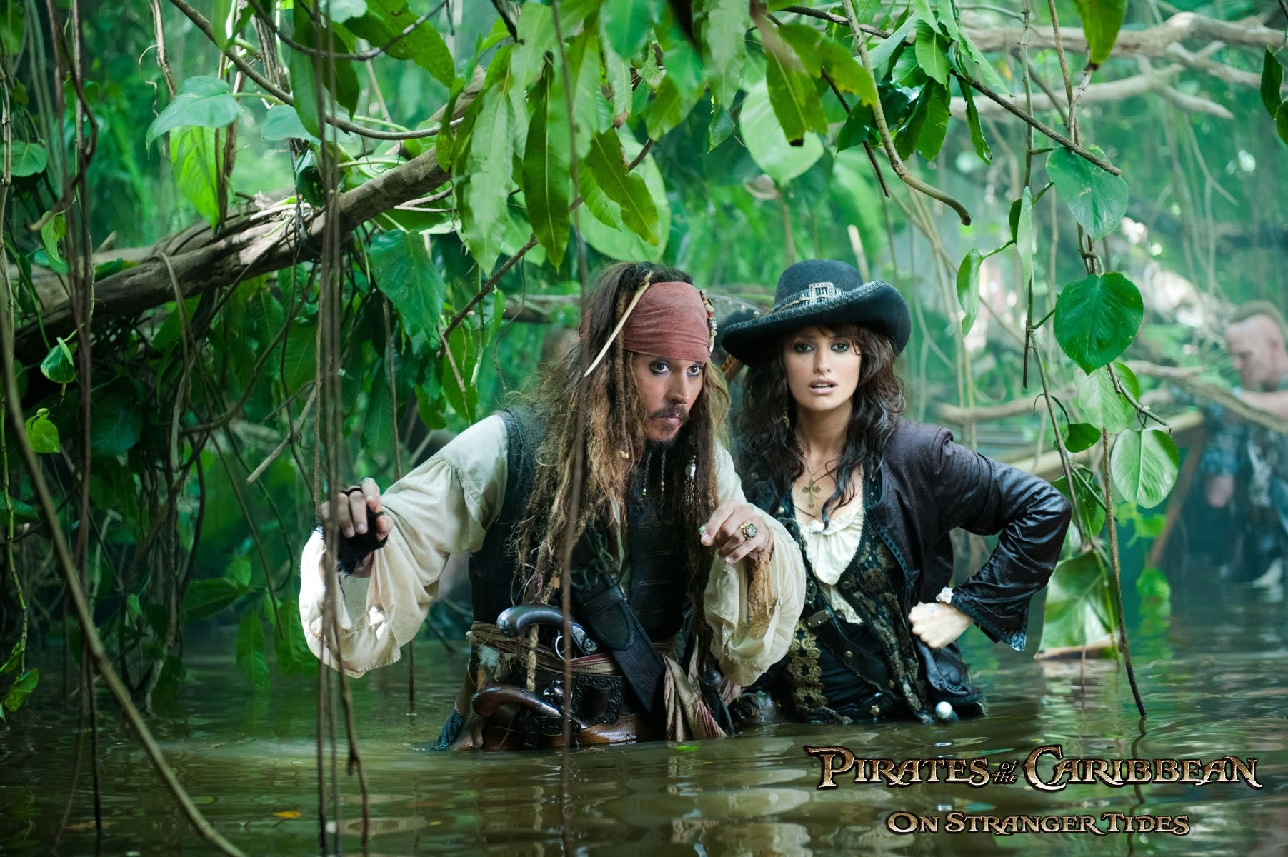 Penelope Cruz Pirates Of The Caribbean Johnny Depp Captain Jack
