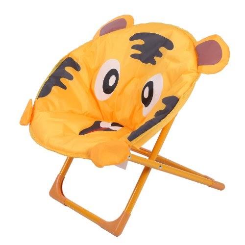 kingcamp moon jaune chaise enfant mobilier de camping chaises. Black Bedroom Furniture Sets. Home Design Ideas