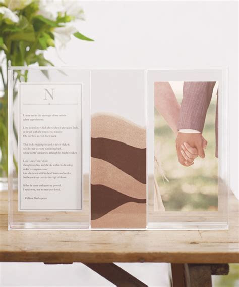 Clearly Love Monogrammed Unity Sand Wedding Ceremony