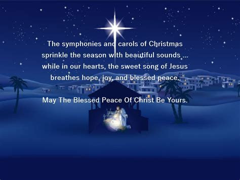 Religious Christmas Verse   Card Verses, Greetings And Wishes