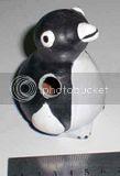 Gerabah Tempat Pensil  penguin 1