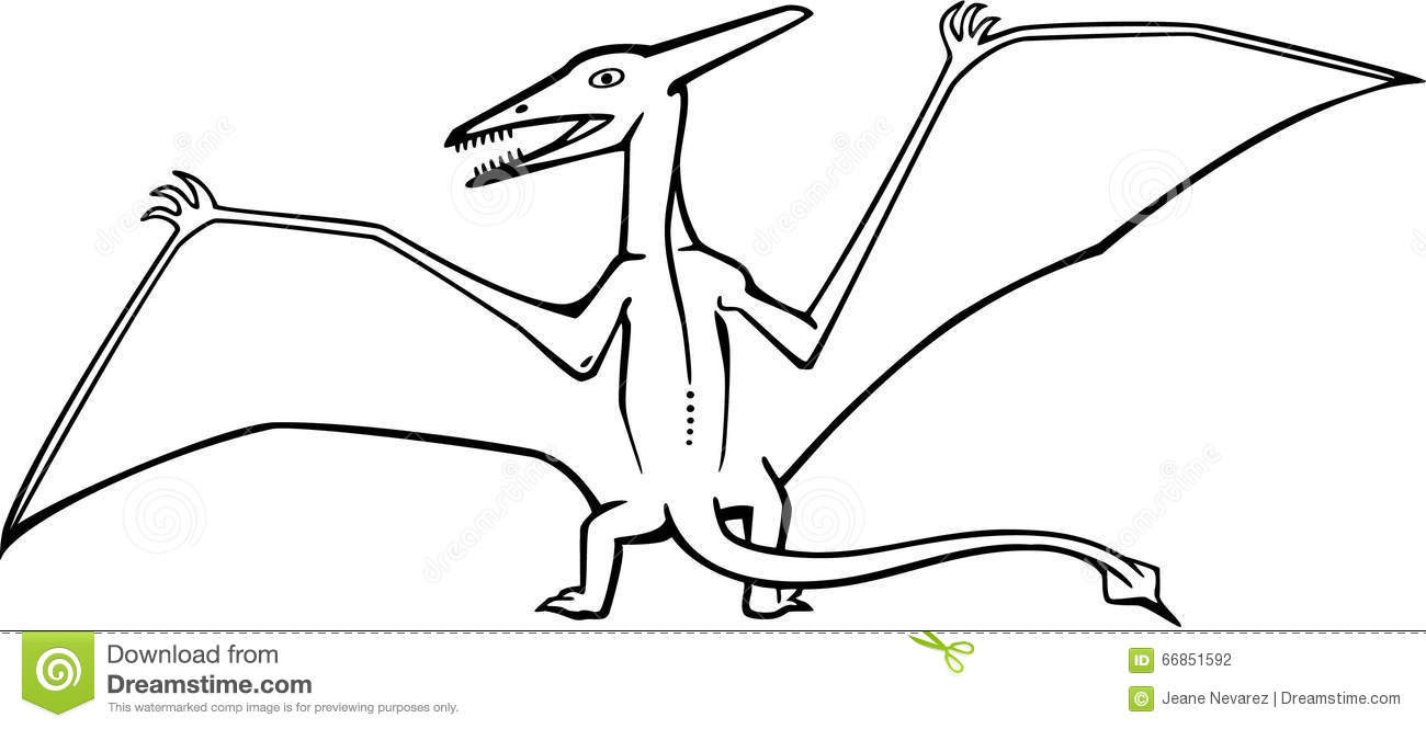 10 TUTORIAL HOW TO DRAW A DINOSAUR PTERODACTYL EASY STEP ...