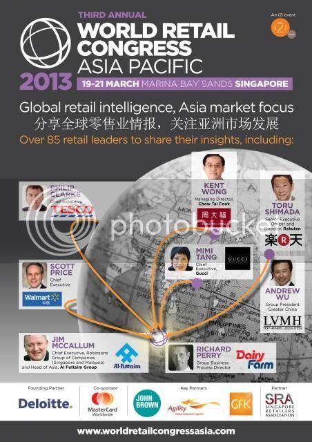 world retail congress asia pacific 2013