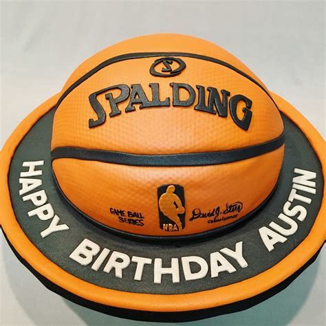 MyMoniCakes: Spaulding basketball cake with matching cupcakes
