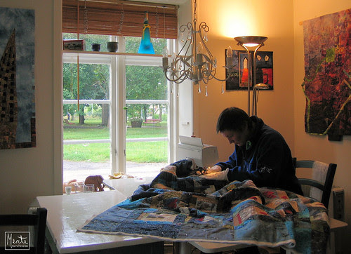 quilter at work :: quilter i arbeid