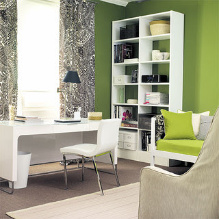 Home Office Space modern home office