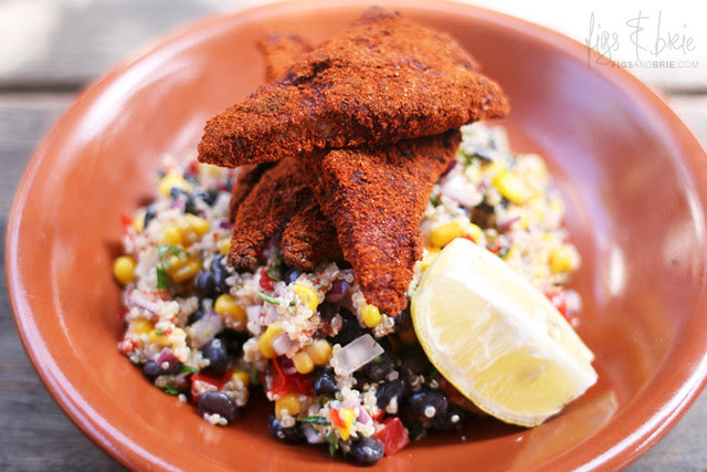 Blackened Fish Quinoa Salad, The Abercrombie
