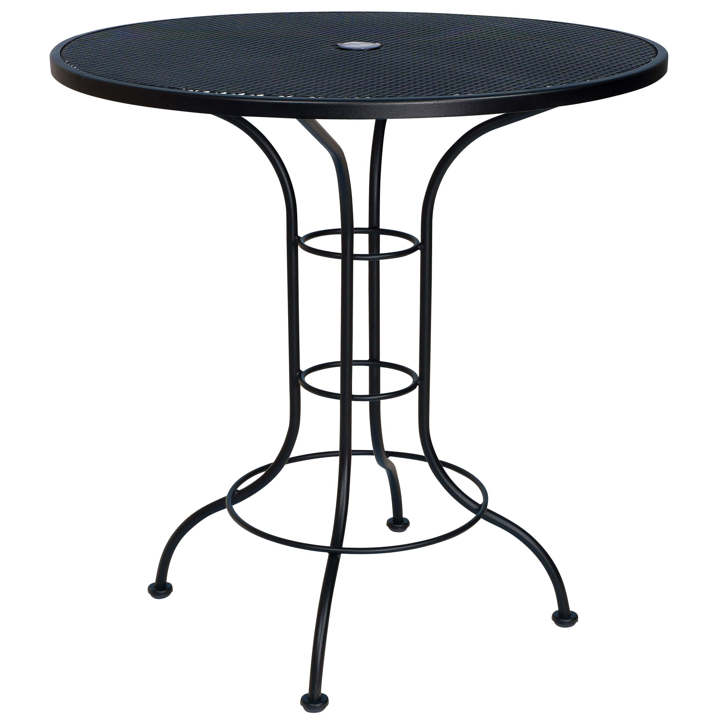 """Pictured is the 36"""" Round Counter Height Outdoor Bistro ..."""