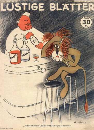 1942 Nazi Cartoon