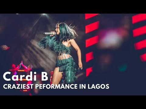 Cardi B delivered the Craziest and an Electrifying Performance over the Weekend | SEE VIDEO