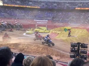 Monster Jam Path of Destruction show