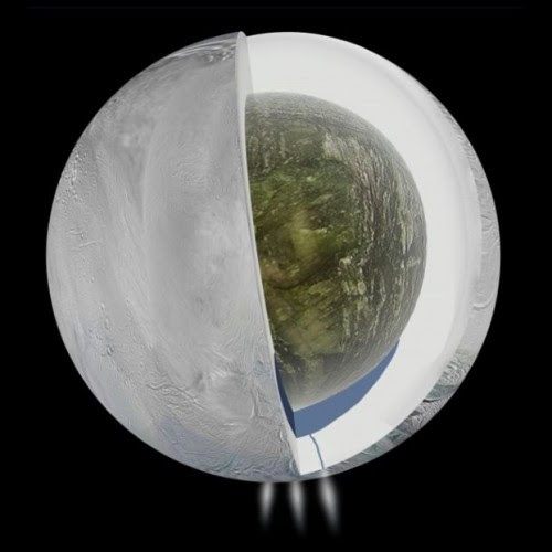 Τα νέα στοιχεία επέτρεψαν στους ειδκούς να «κοιτάξουν» βαθιά στο εσωτερικό του Εγκέλαδου και να κάνουν γεωλογικές παρατηρήσεις για τον υπόγειο ωκεανό του. Credit: NASA/JPL-Caltech