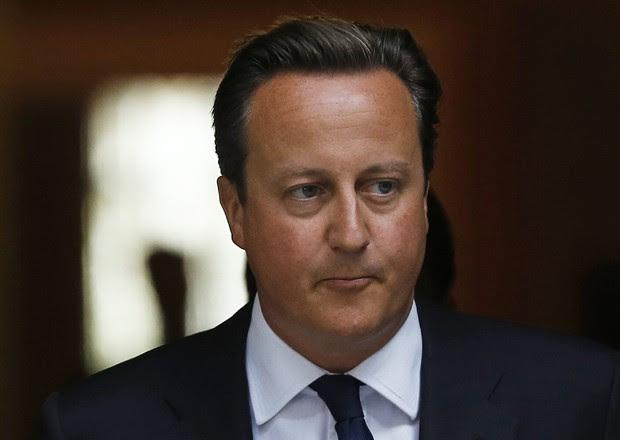 O primeiro-ministro da Grã-Bretanha, David Cameron (Foto: Suzanne Plunkett/Reuters)