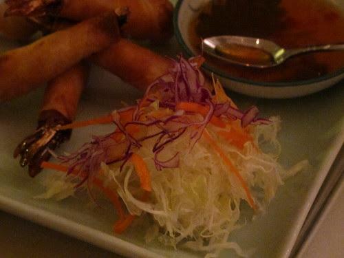 Ginger Shrimp Roll