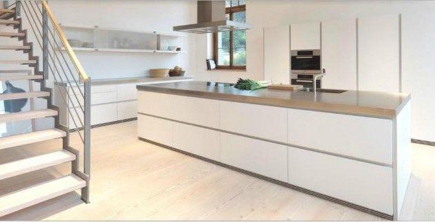 Diseños de Cocinas Blancas 1 Atractivos Diseños de Cocinas Blancas