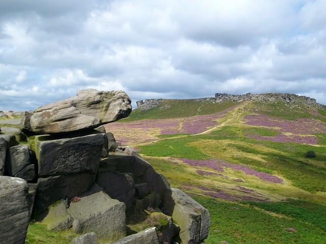 Peak District rocks