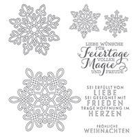 Flockenzauber Photopolymer Stamp Set (German) by Stampin' Up!