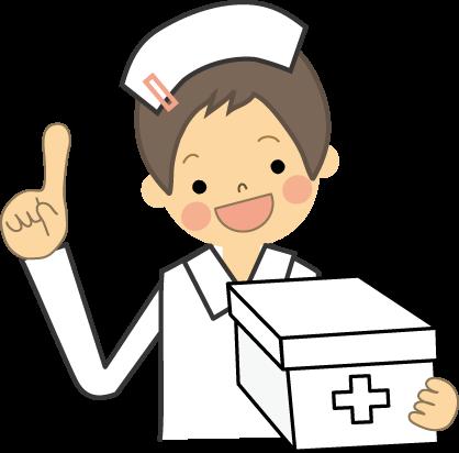 看護師のイラスト医療無料イラストフリー素材